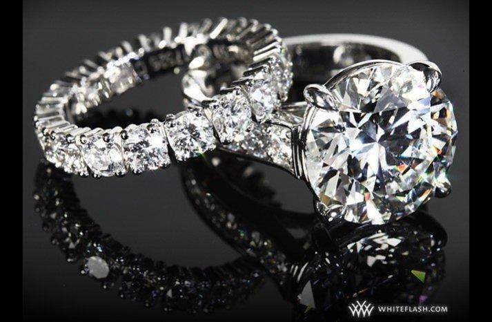 whiteflash engagement rings diamond wedding bands