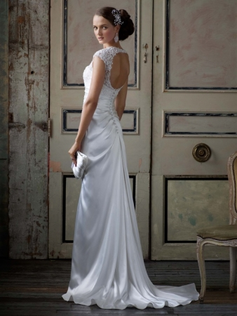 By David 39s Bridal GOLD WEDDING DRESSES