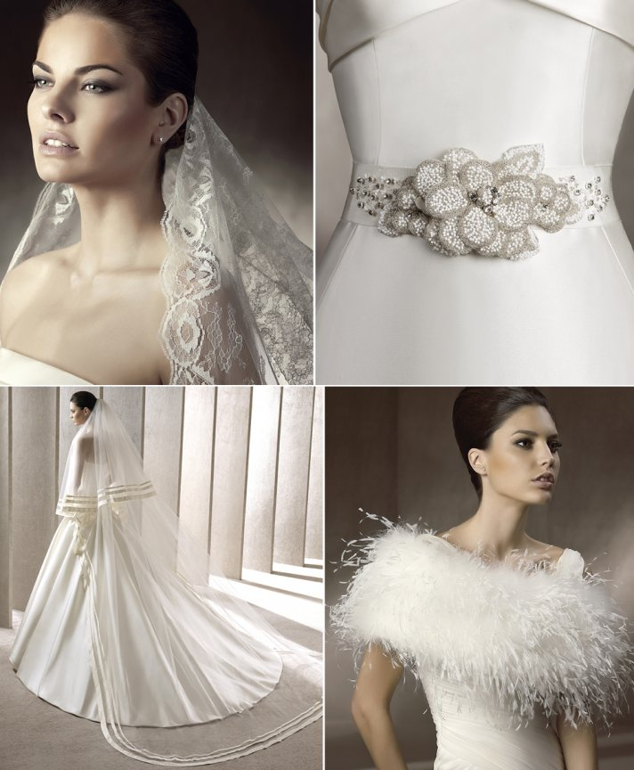 Pronovias wedding accessories have arrived onewed for Where to buy wedding accessories
