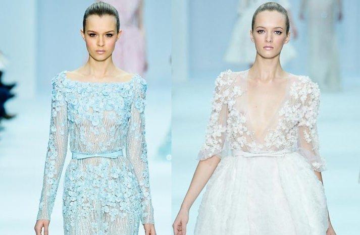 wedding updo ponytail elie saab 2012 couture