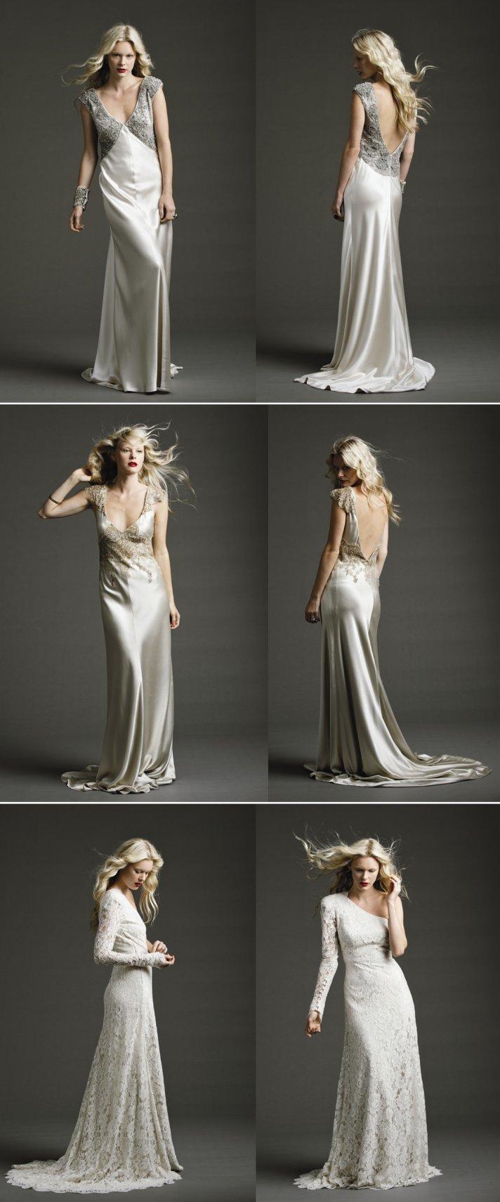 vintage inspired wedding style 2012 wedding dresses