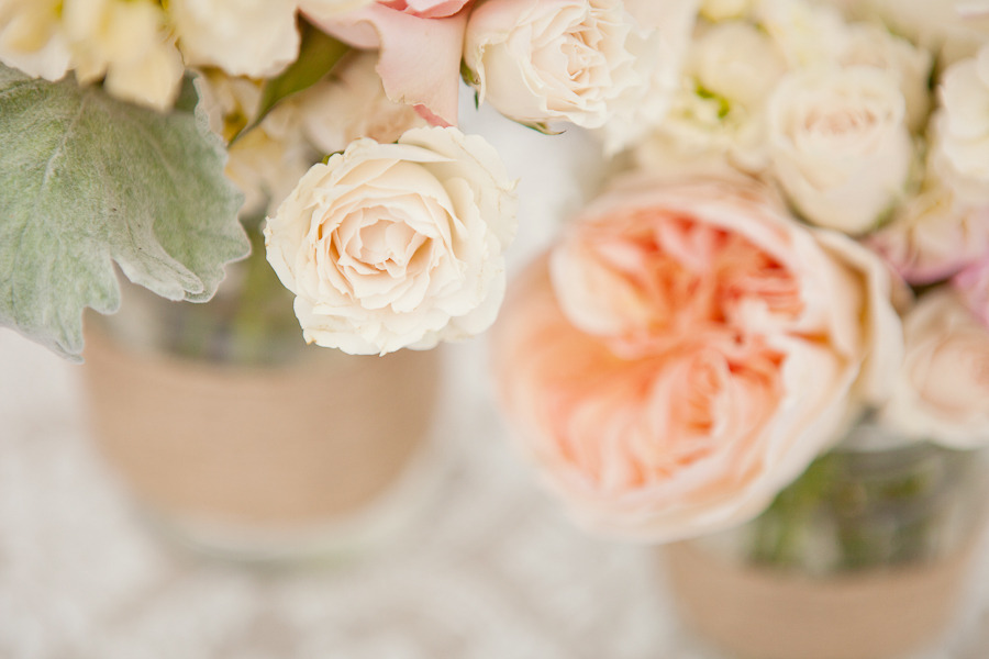 romantic wedding themes outdoor wedding pastels spring summer centerpieces