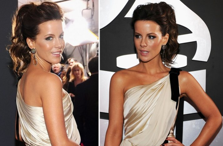 2012 grammys wedding hair makeup inspiration kate beckinsale