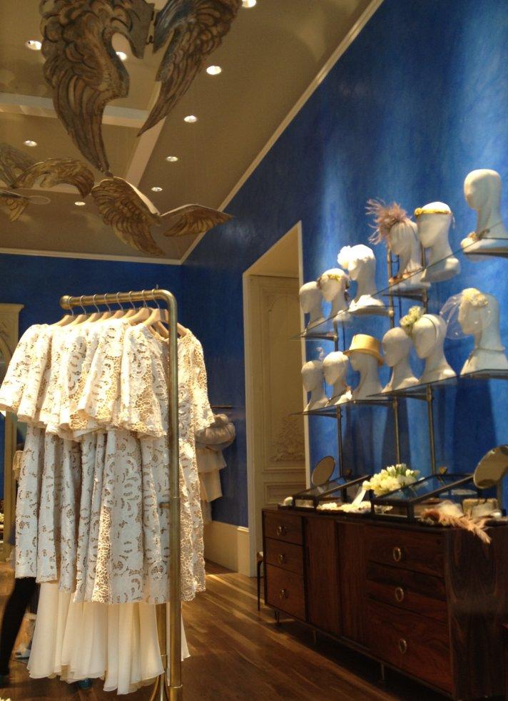 BHLDN bridal salon Chicago wedding accessories headpieces fascinators