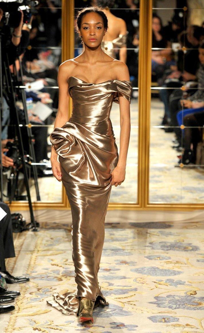 Fall 2012 wedding dress inspiration Marchesa RTW modified mermaid strapless