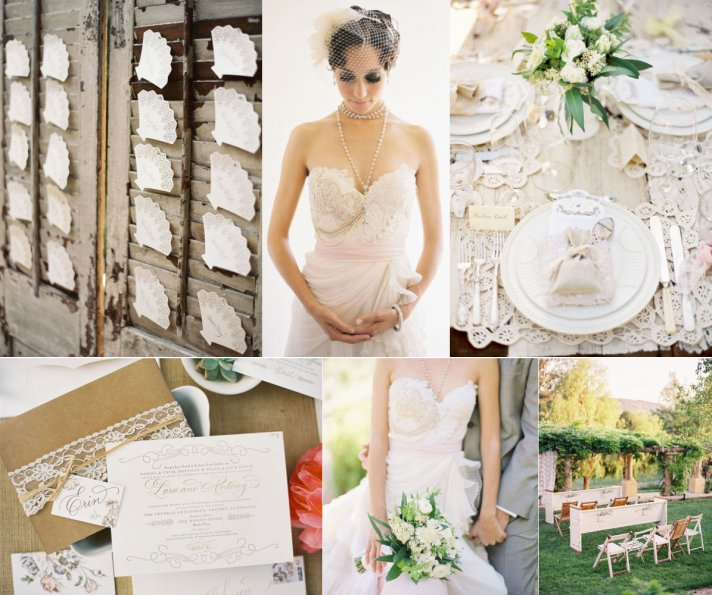 Outdoor Wedding Colors: Elegant Neutrals For Your Wedding Day