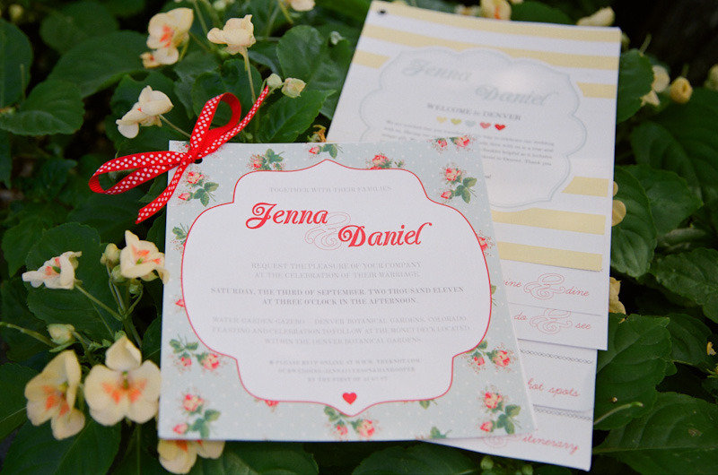 country chic wedding invitations coral green khaki