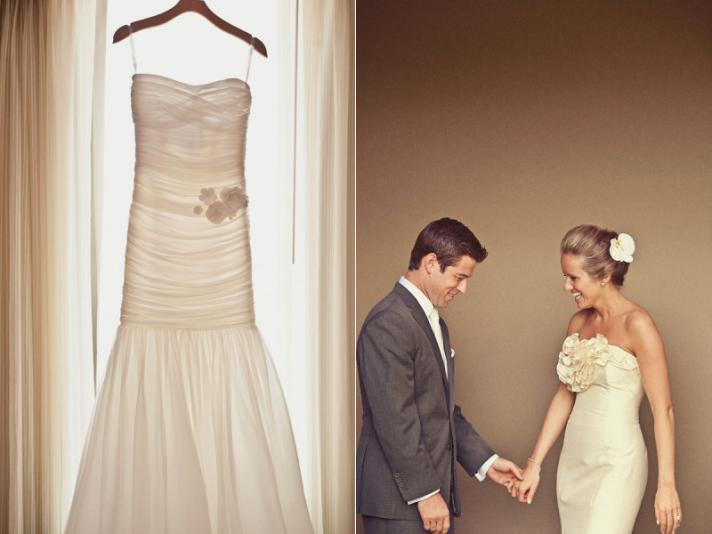 L Wedding dress by Modern Trousseau photo by Katherine O 39Brien
