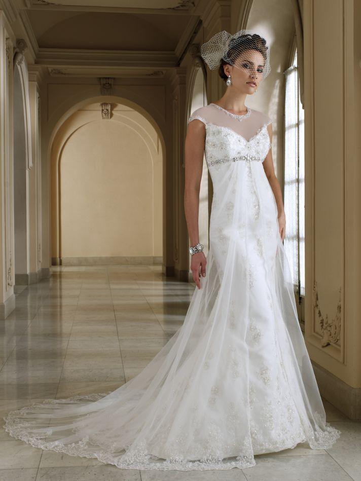 2012 wedding dress david tutera for mon cheri bridal gowns 112205