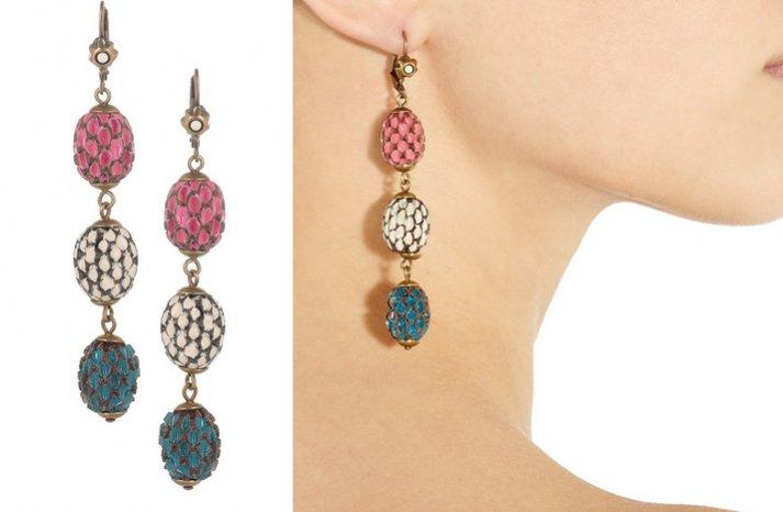 creative bridesmaid gift ideas statement earrings