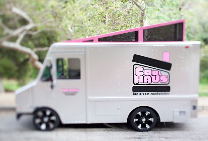 ice cream sandwiches wedding reception food truck