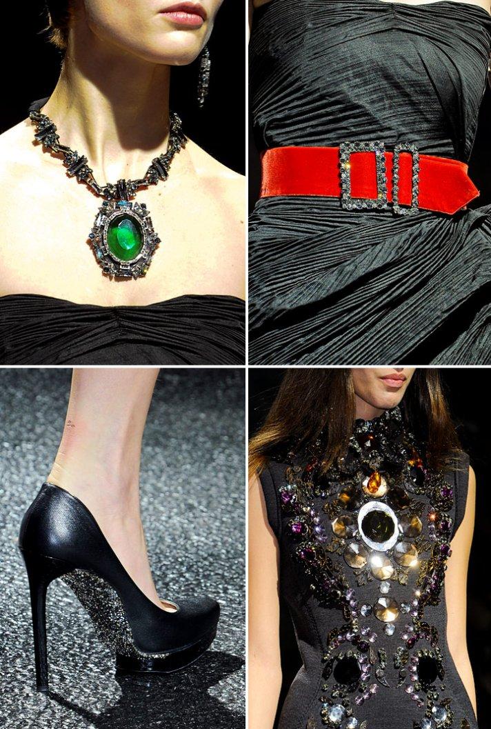 2012 wedding accessories inspiration lanvin