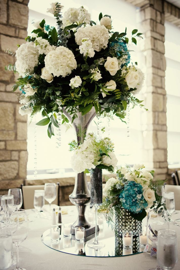 Melissa s elegant wedding reception venue ivory