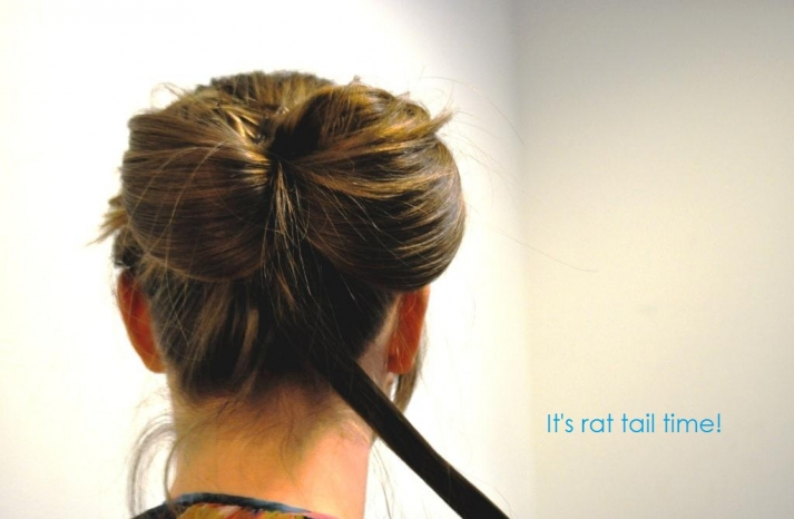 DIY wedding hair ideas bridal updo bow bun 11