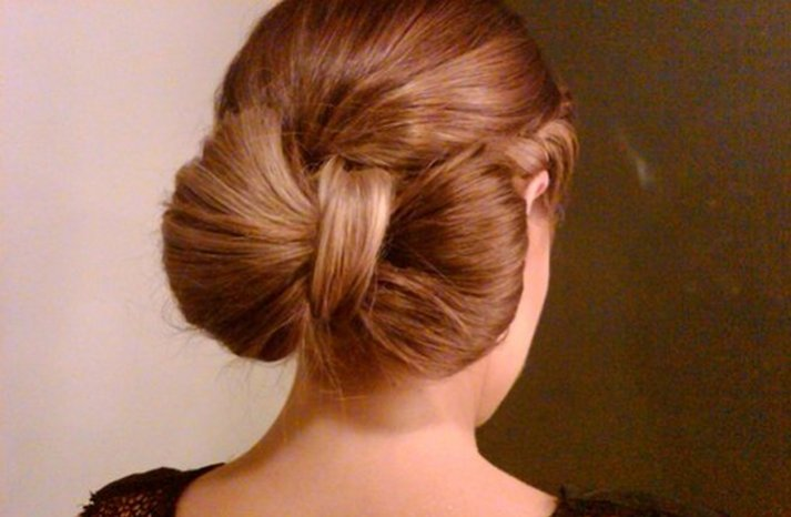 wedding ideas for bridesmaids wedding hairstyle how to bow bun updo onewed 27931