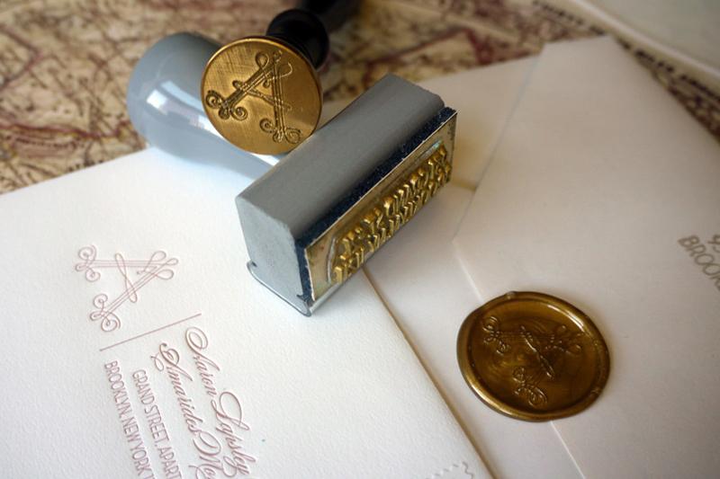 elegant vintage inspired wedding invitation ivory gold blush pink