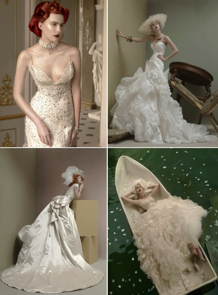 st pucchi couture bridal gowns 2012 wedding dresses romantic