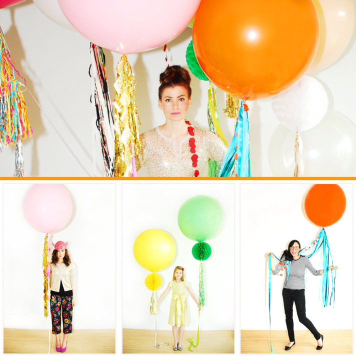 colorful balloons wedding reception ideas Geronimo Balloon Troopers