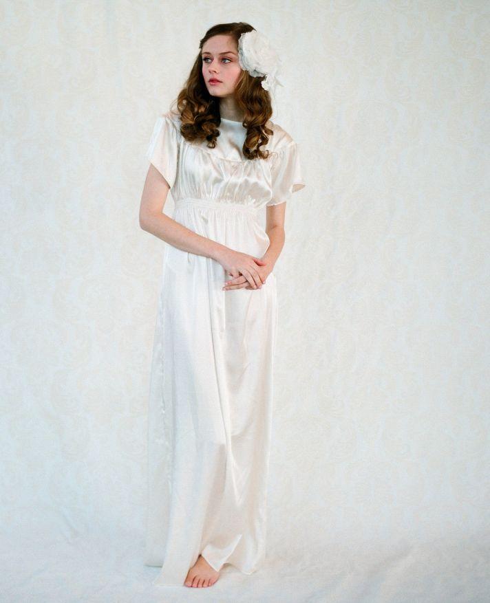 2012 wedding dress silk bohemian sheath bridal gown