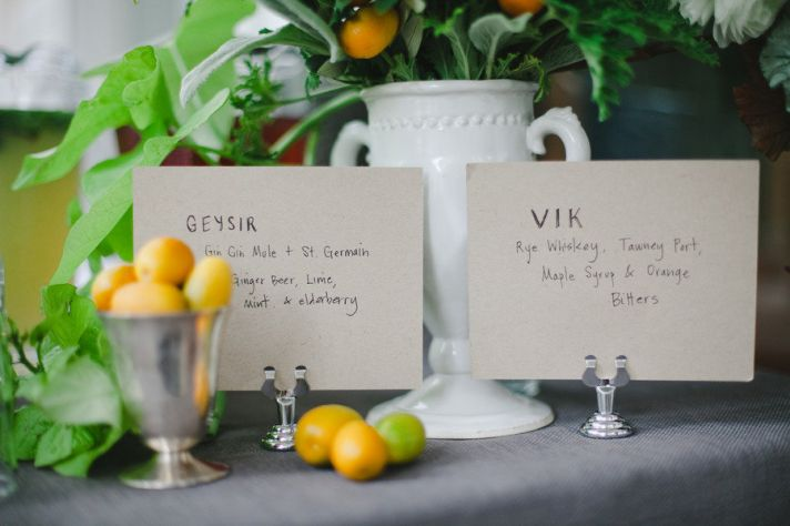 yellow green wedding decor centerpieces with lemons