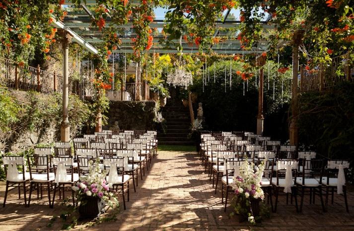 enchanted garden wedding venue