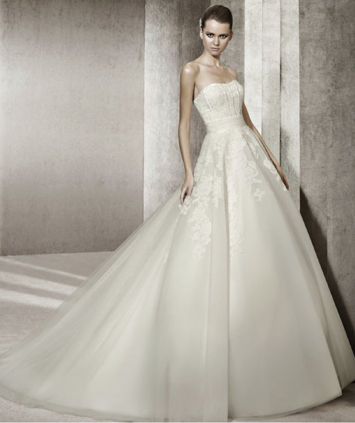 2012 wedding dress pronovias you collection affordable bridal gowns Jennifer