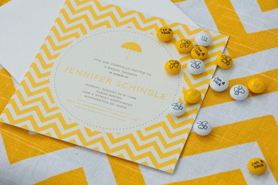 Magnificent Yellow And White Wedding Invitations Model - Invitation ...