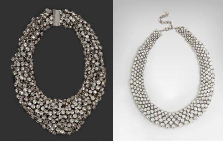 2012 bebe bridal collection wedding necklaces