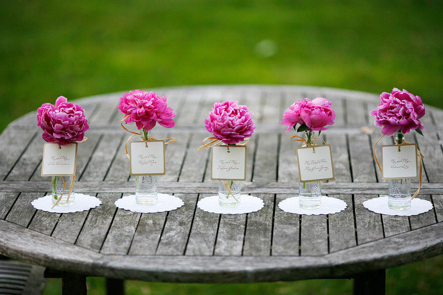 Ailins blog red roses and calla lilies are among the most popular romantic spring wedding outdoor venue single bloom centerpieces pink peonies mightylinksfo