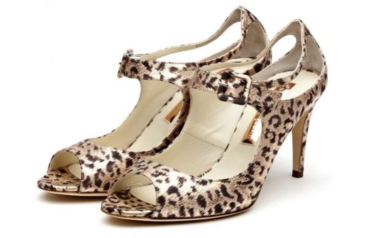 leopard print wedding shoes wild bridal heels