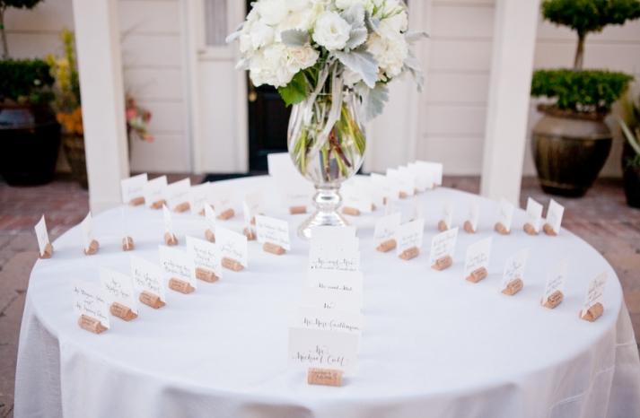 romantic winery wedding outdoor wedding venues escort card table