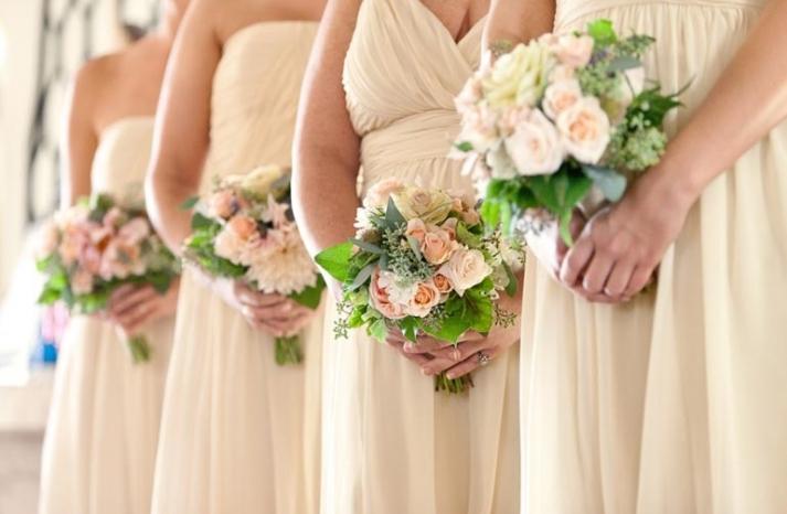 elegant spring wedding banquet hall wedding reception venue romantic centerpieces 3