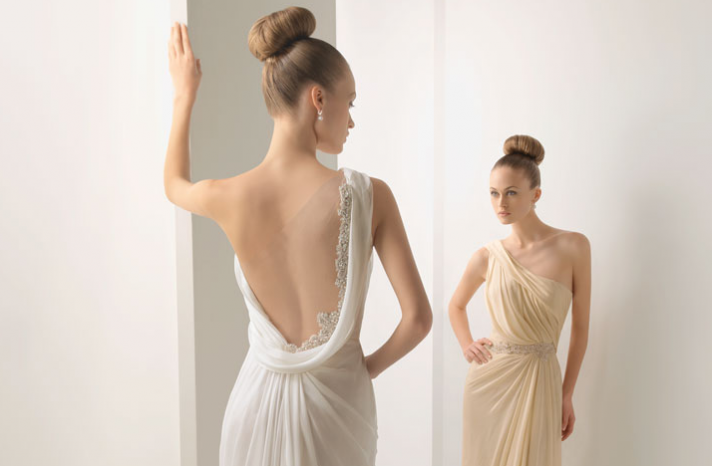 open back wedding dress 2012 bridal gown by rosa clara