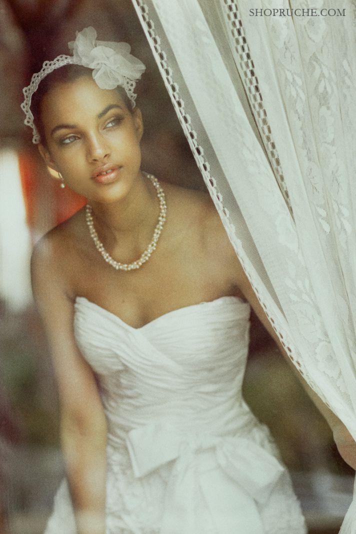 feather bridal headband