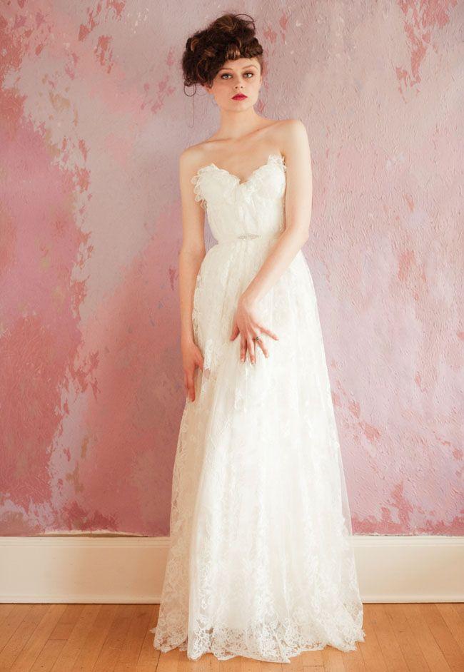 sweetheart neckline wedding dress spring 2013 bridal gowns sarah seven