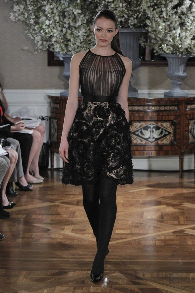 Spring 2013 wedding dress collections Romona Keveza bridal gown black nude LBD