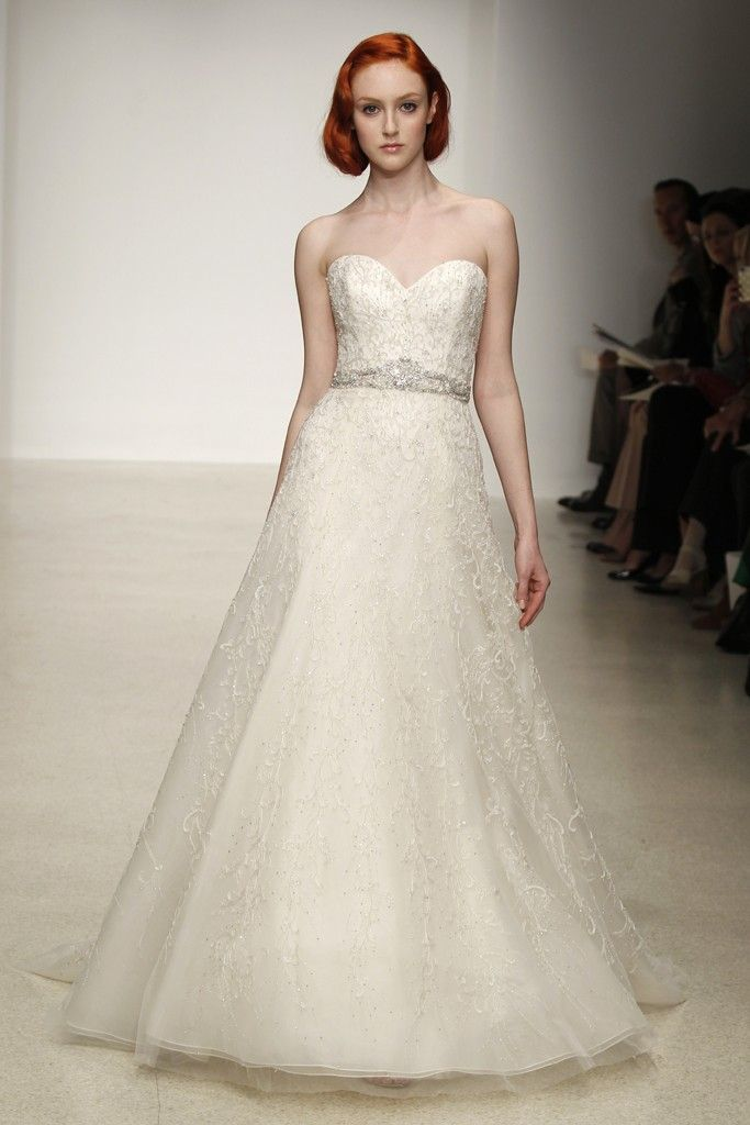 Romantic Dramatic Wedding Dresses From The Spring 2013