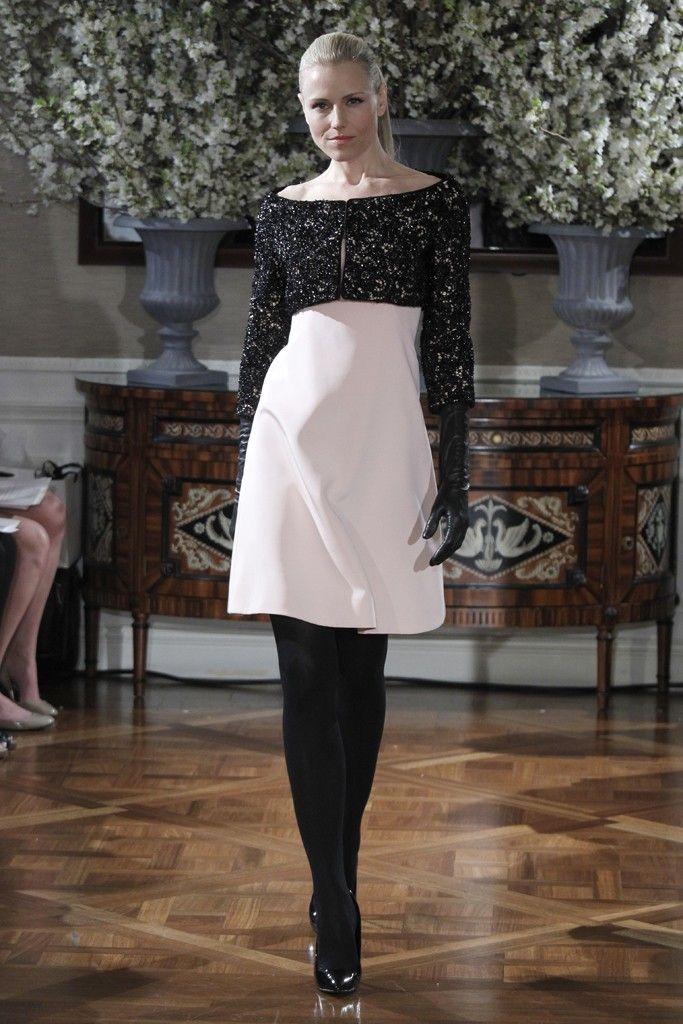 2013 wedding dress trend two tone bridal gowns blush pink LWD black cropped bridal bolero Romona Kev