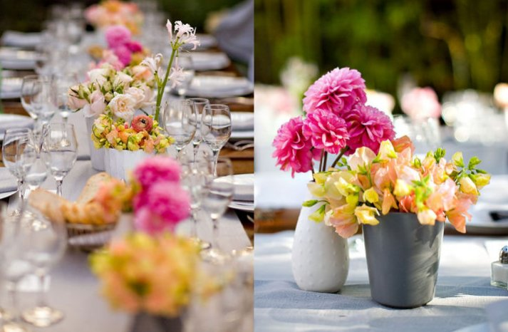 pink lemonade wedding color palette spring summer wedding flower ideas 1