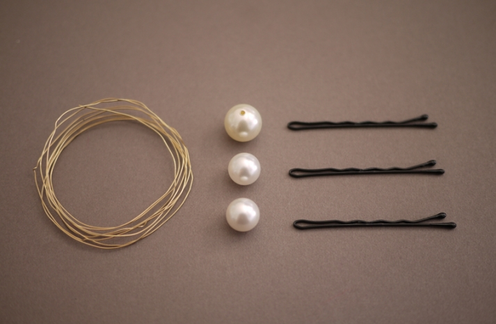wedding hair accessories DIY bridal projects pearl pins 2