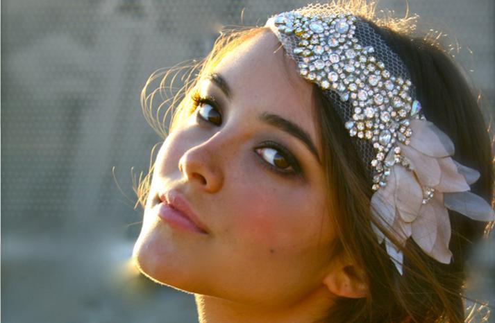 beaded bohemian bride wedding headband  full carousel - Gelin Tac� | Gelin Ba�� Aksesuarlar� ~