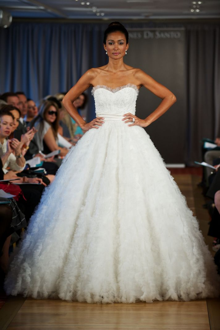 wedding dress spring 2013 bridal gowns Ines di Santo 31