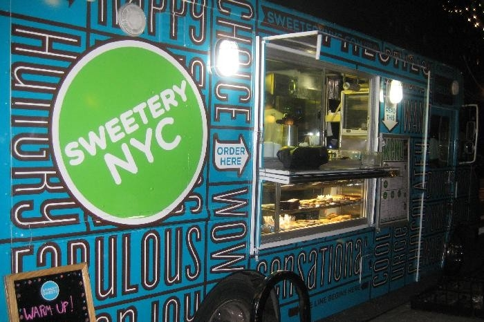 food truks for wedding reception NYC sweets