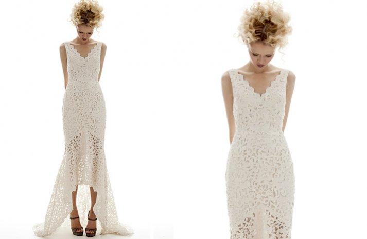 prettiest little white wedding dresses spring 2013 elizabeth fillmore