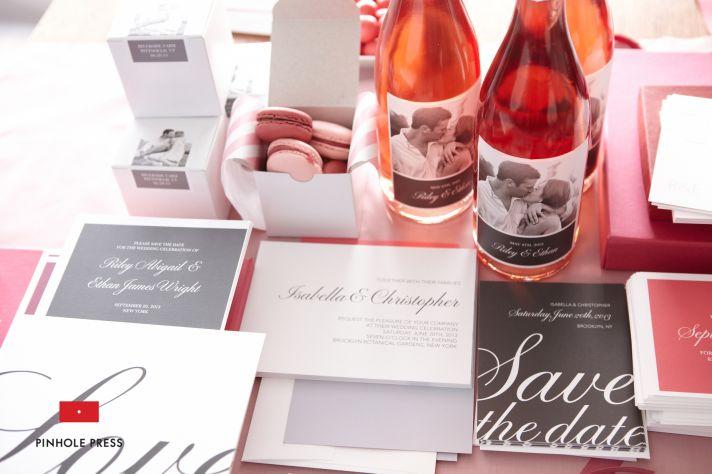 personalized wedding ideas custom photo save the dates wedding invitations 3