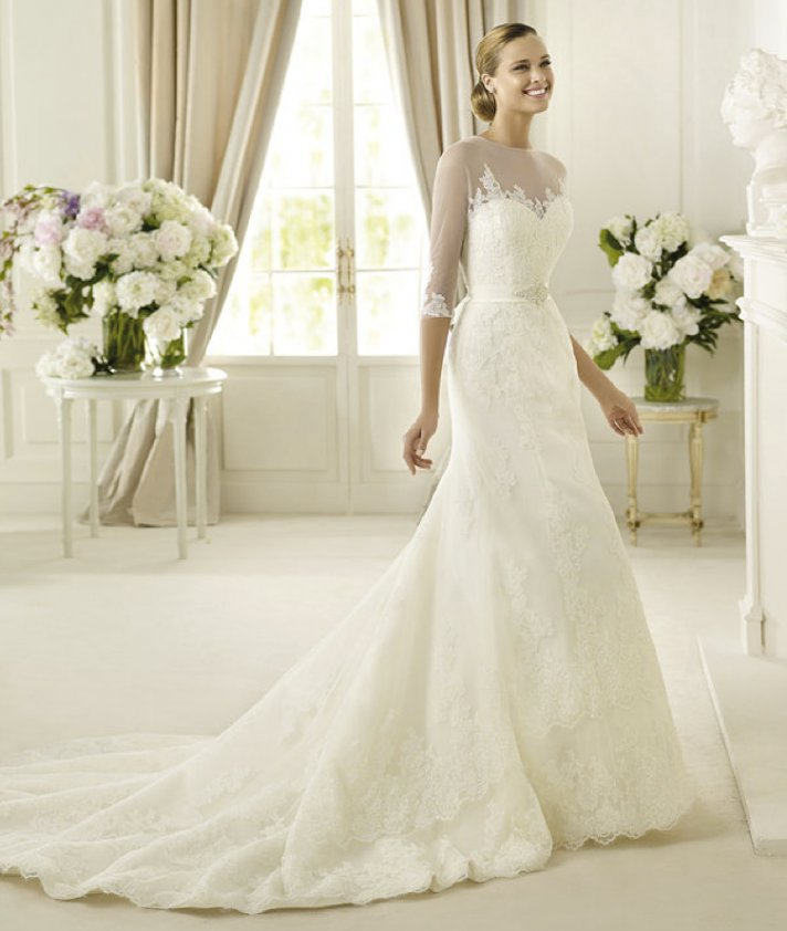 Sheer Perfection: 11 Gorgeous Wedding Dresses from the 2013 Costura ...