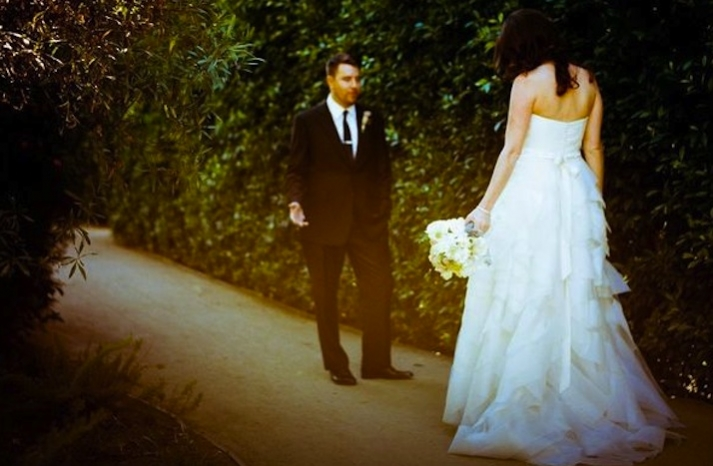 artistic wedding photography first looks