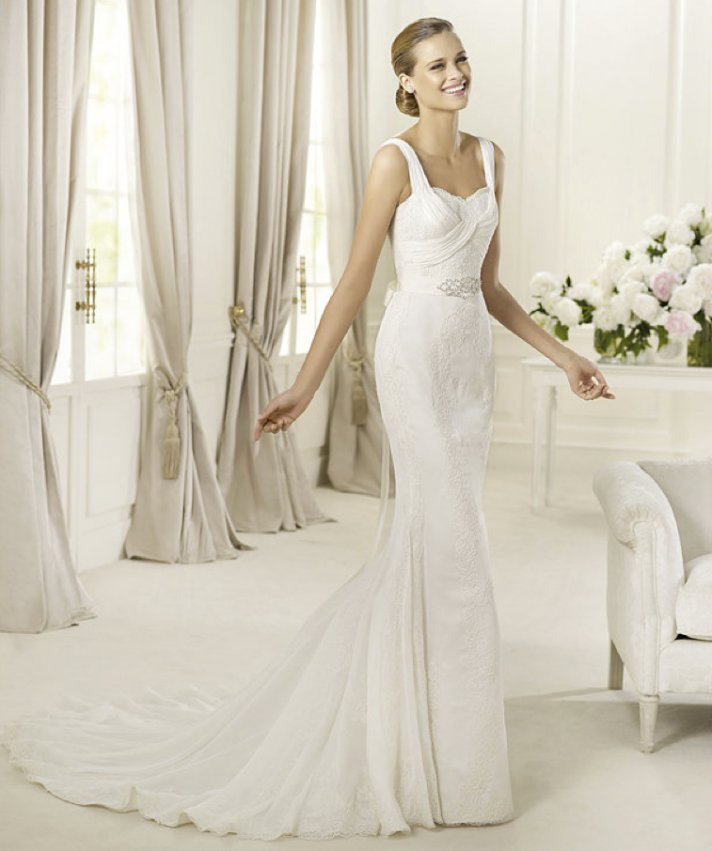 2013 wedding dress Pronovias bridal gowns fashion collection Dia
