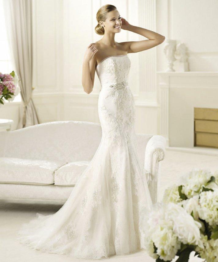2013 wedding dress Pronovias bridal gowns fashion collection Diciembre
