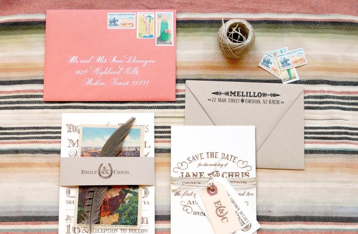 rustic western wedding invitations elegant wedding stationery save the dates 1